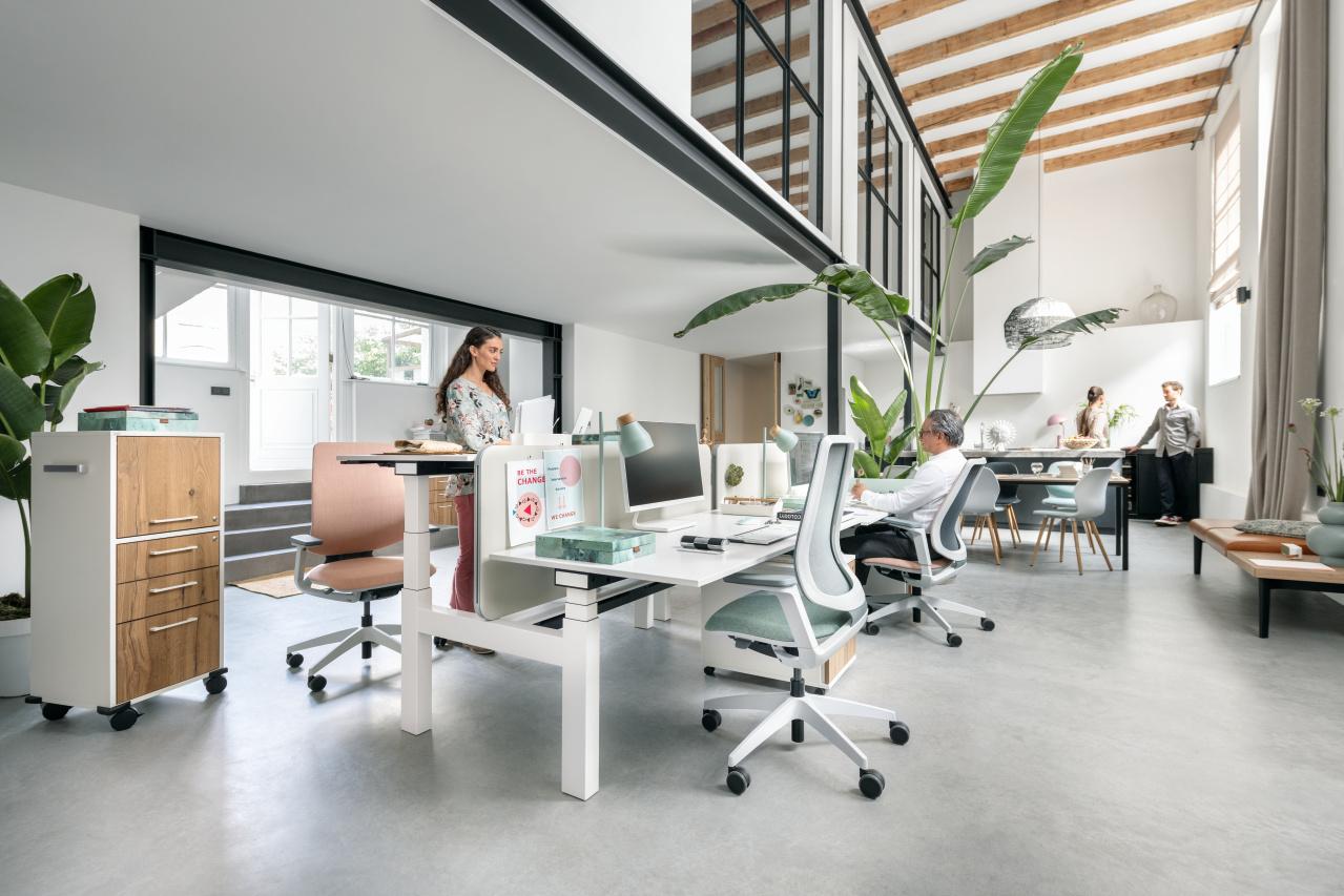 Sedus zit-sta bureau Heering Office Den Haag