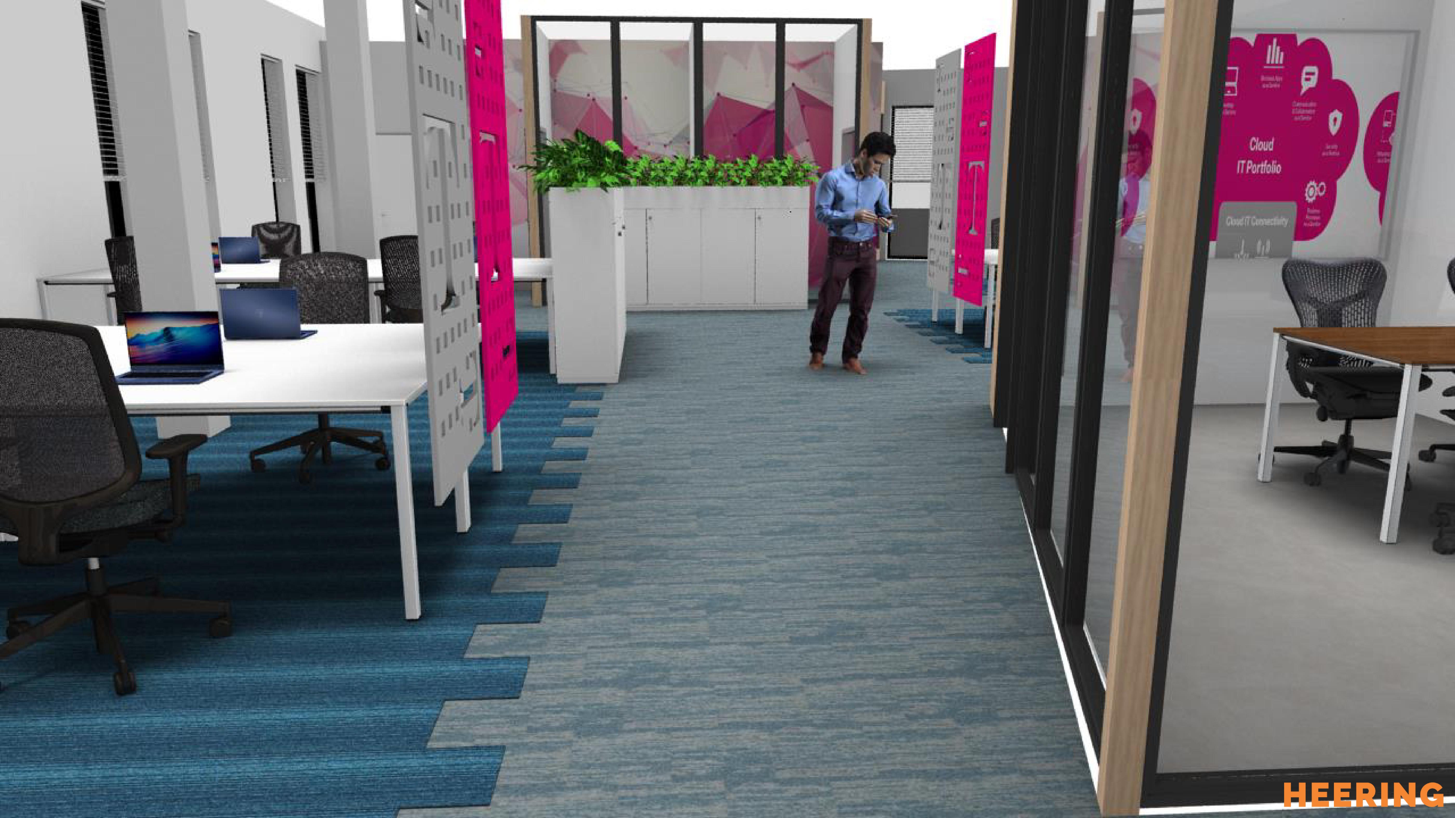 concept inrichtingsplan Heering Office Den Haag
