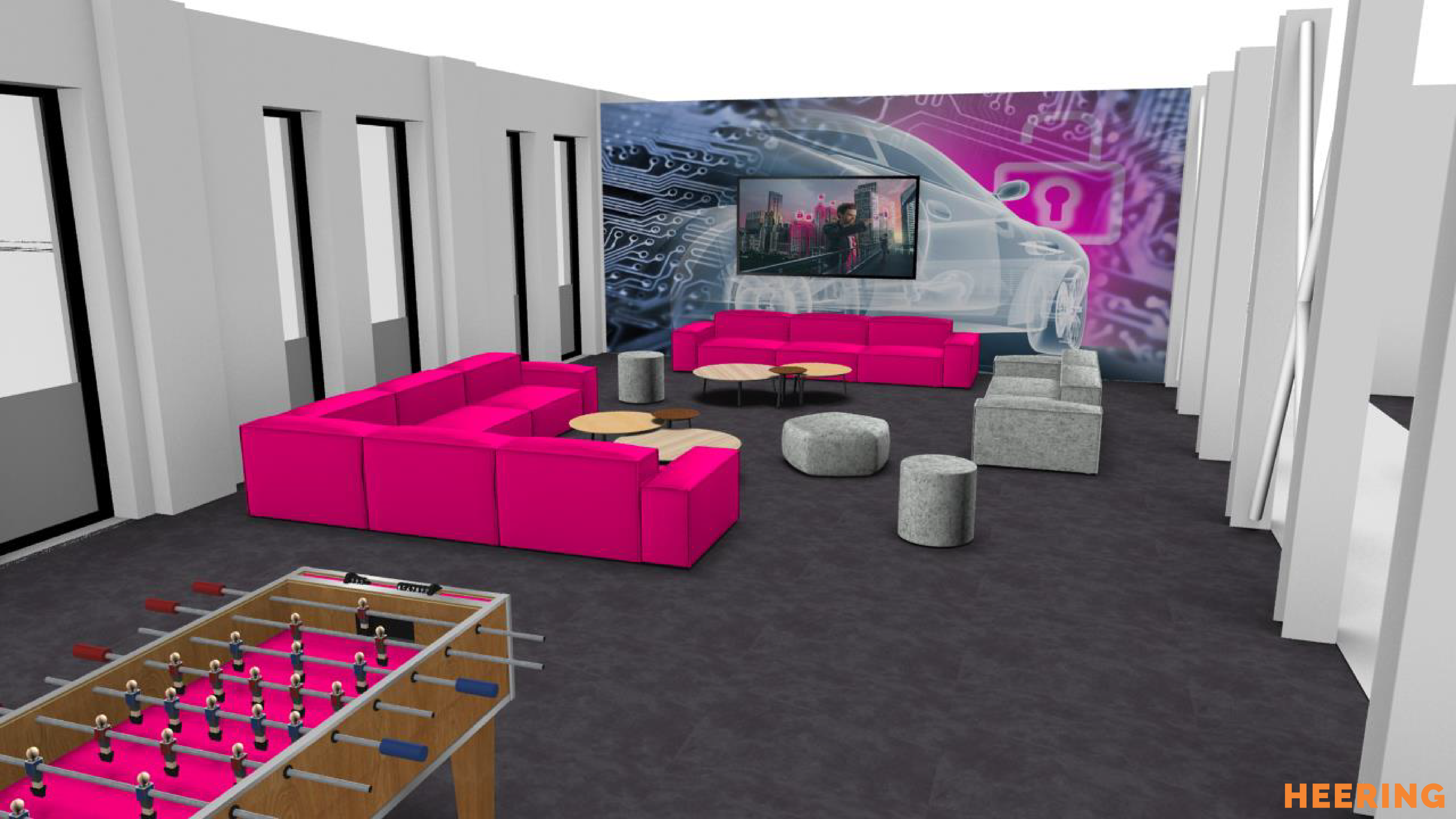 concept ontspanningsruimte Heering Office Den Haa