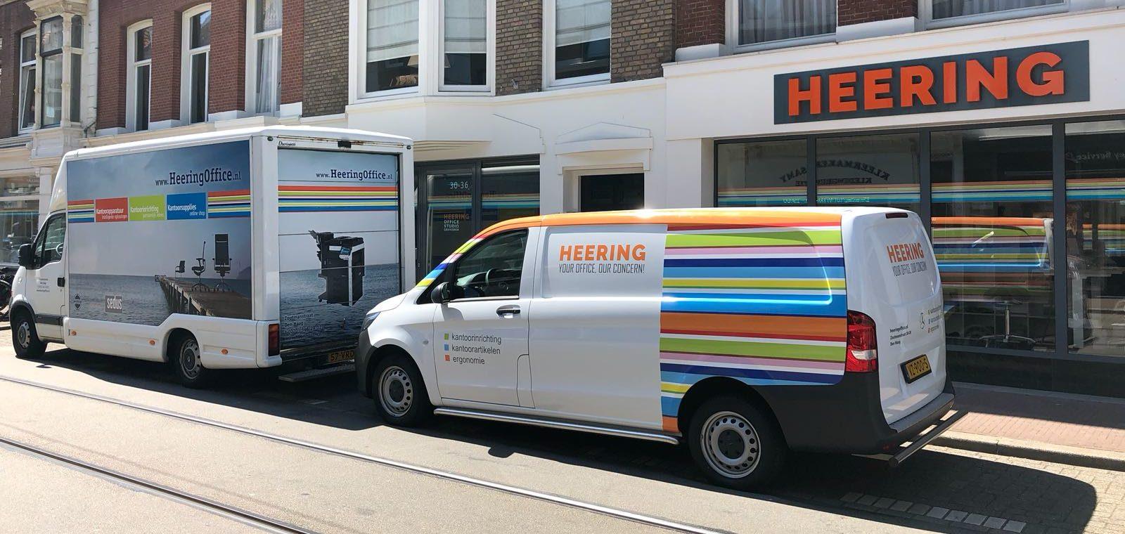technische en logistieke dienst Heering Office Den Haag