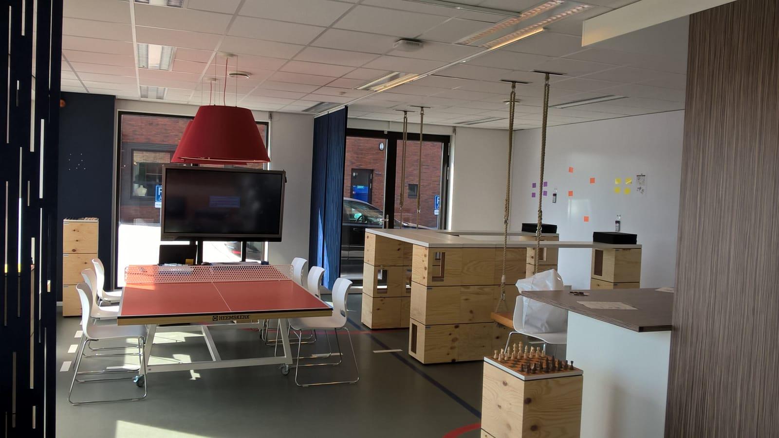 onderwijsinstelling inspiratie en brainstormruimte Heering Office Den Haag