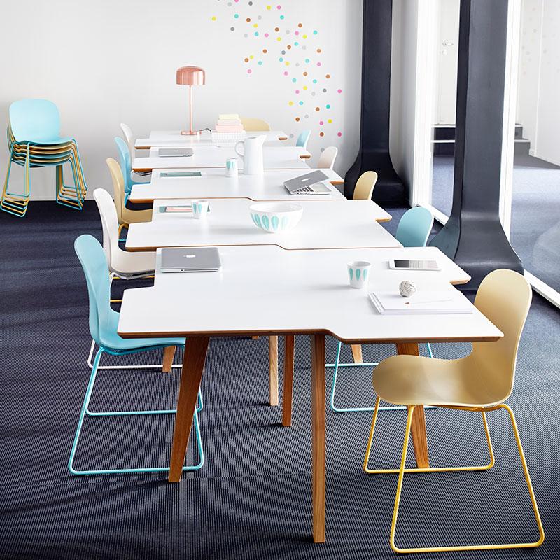 bezoekersstoel Heering Office Den Haag