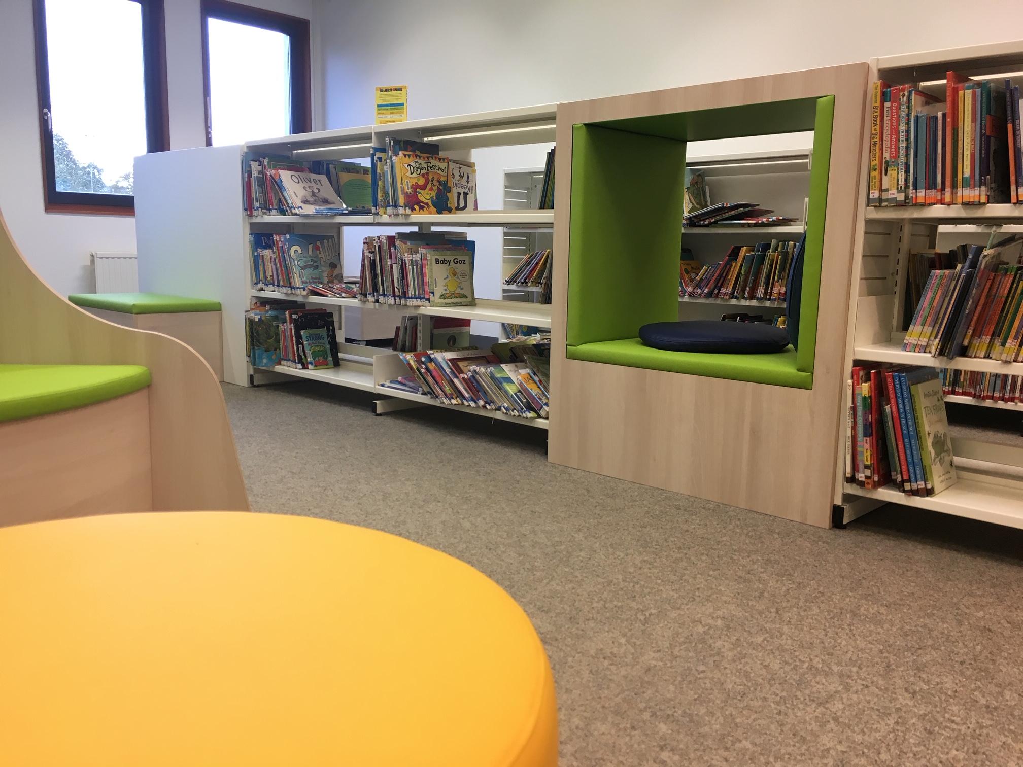 kinderbibliotheek maatwerk Heering Office Den Haag
