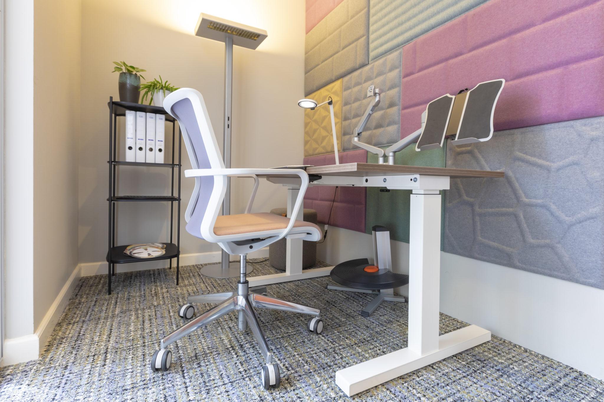 ergonomische werkplek Heering Office Den Haag