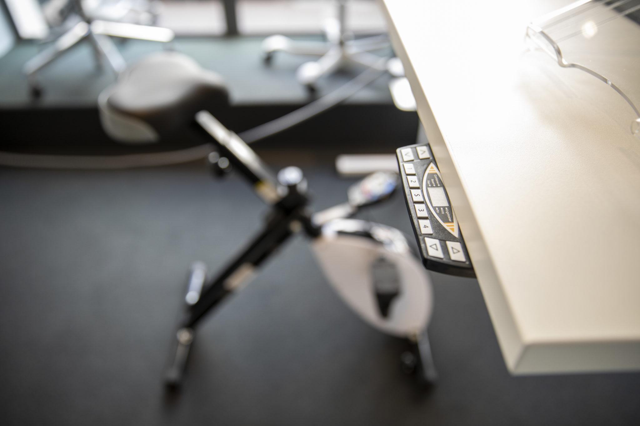 ergonomische producten elektrisch bureau Heering Office Den Haag