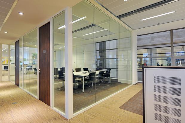 systeemwand Heering Office Den Haag