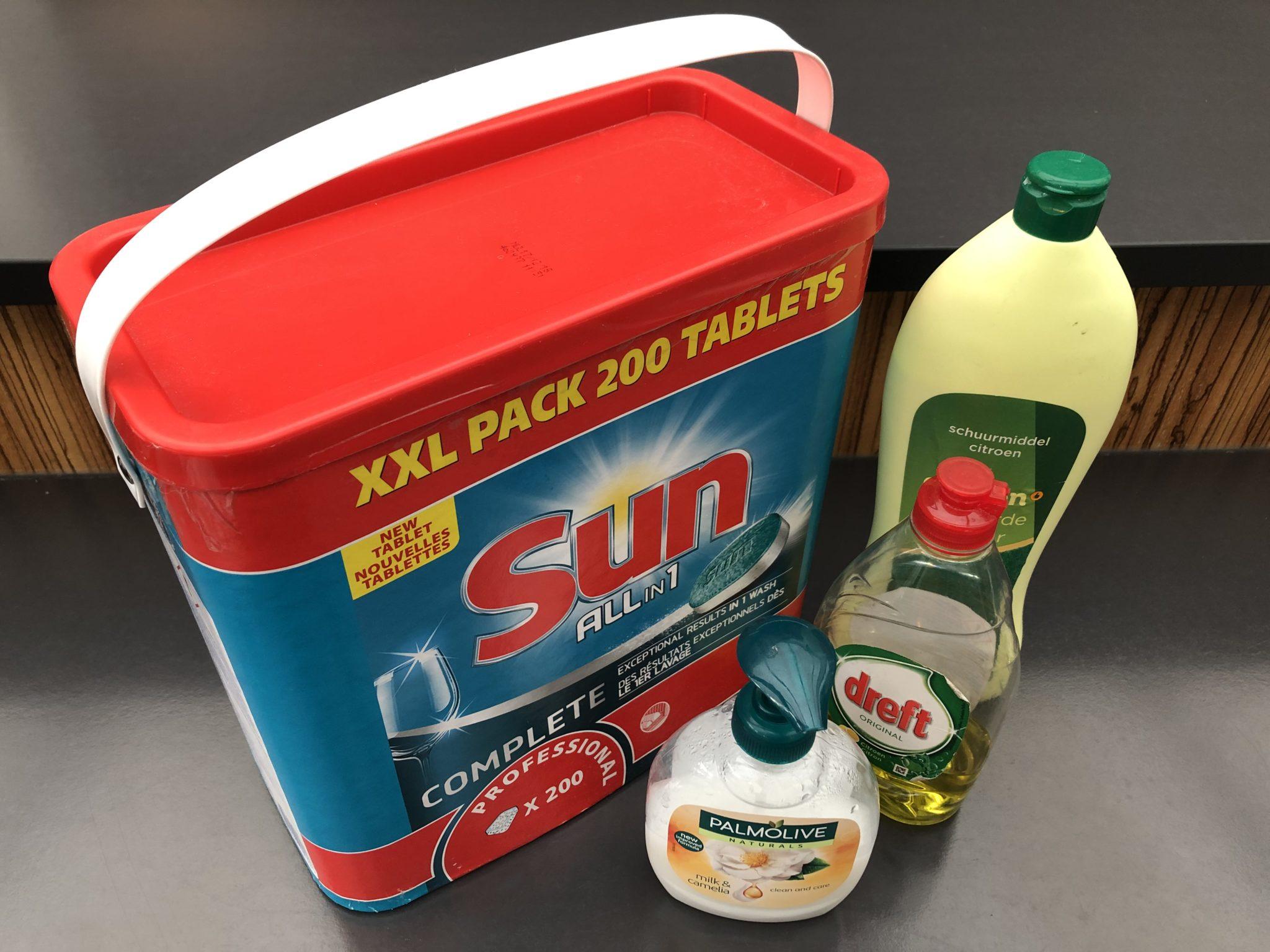 facilitaire producten en schoonmaakproducten