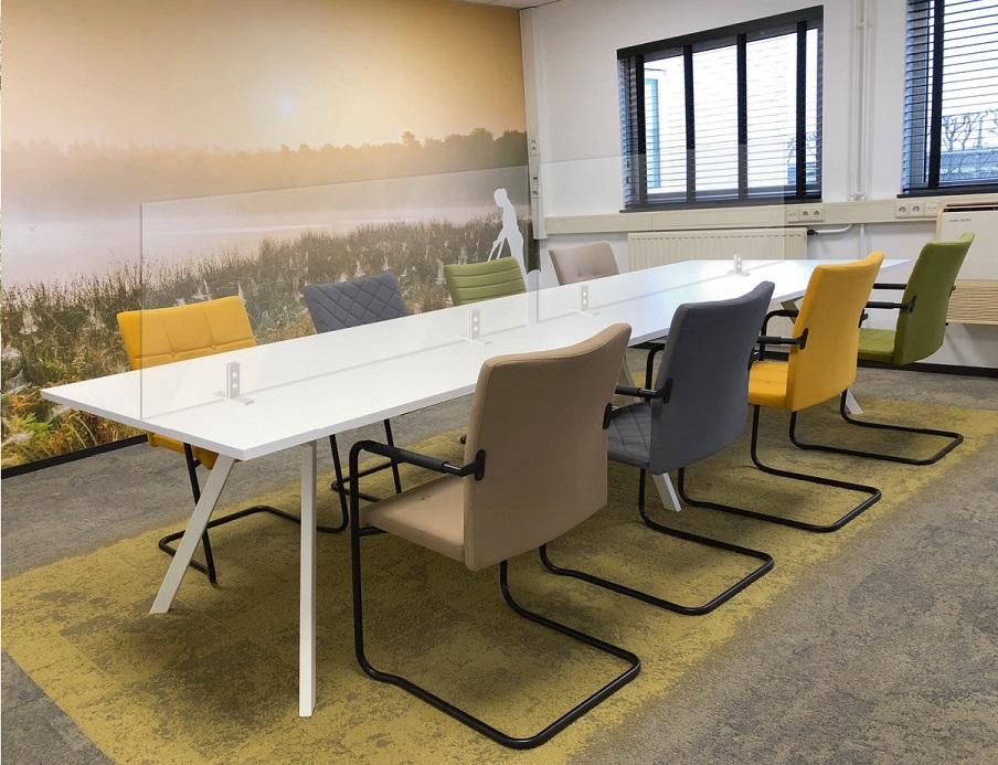 Hygienisch en coronaproof kantoor Heering Office Den Haag