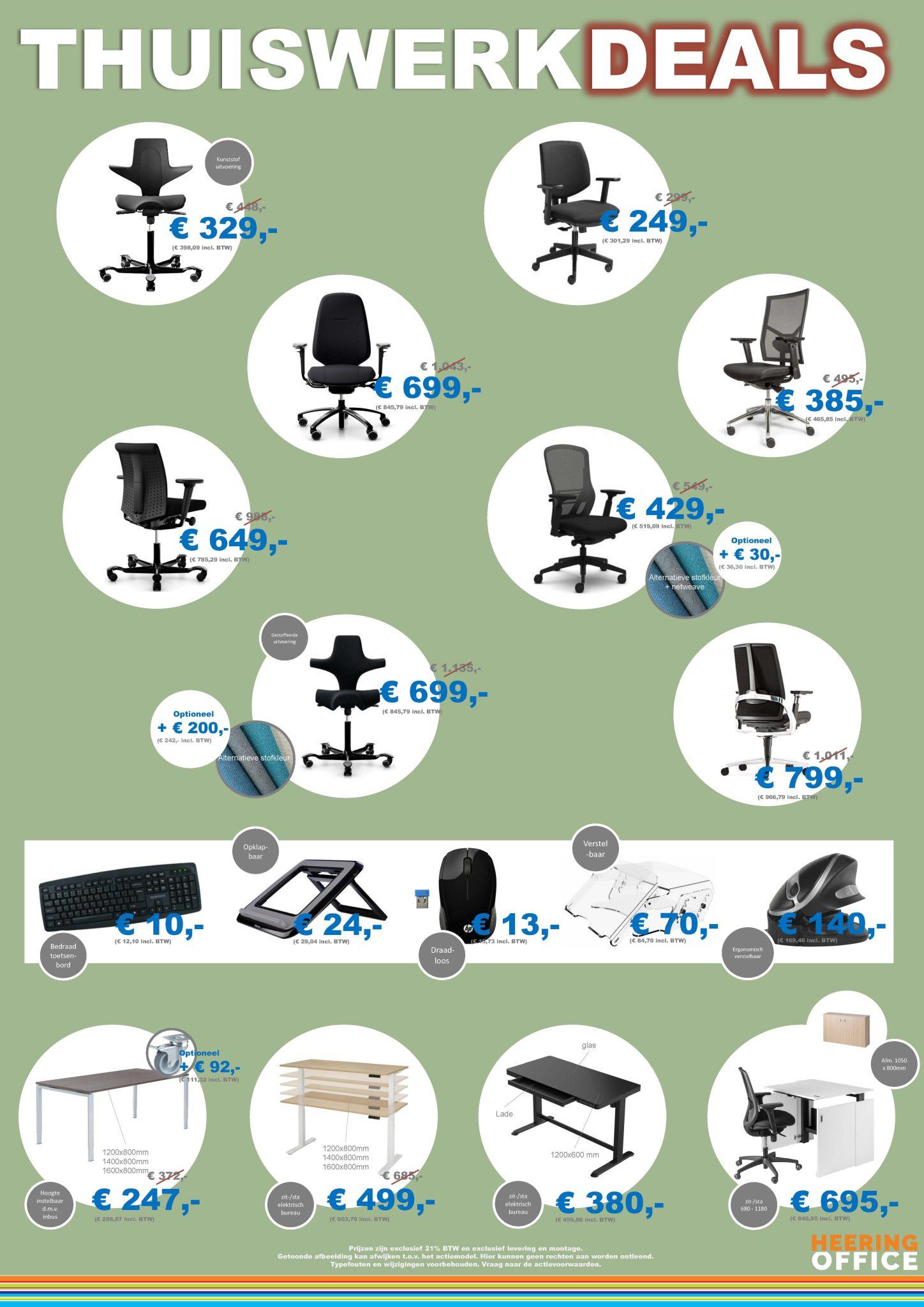 Thuiswerk deals Heering Office Den Haag